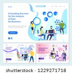 consulting services analysis of ... | Shutterstock .eps vector #1229271718