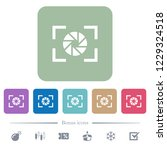 camera aperture setting white... | Shutterstock .eps vector #1229324518