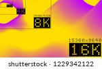 ultra high  resolution 16k... | Shutterstock .eps vector #1229342122