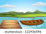 Illustration Of A Boat And A...