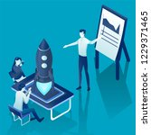 business start up concept for... | Shutterstock .eps vector #1229371465