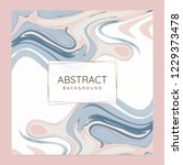 abstract paint pour background... | Shutterstock .eps vector #1229373478