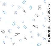 dark blue vector seamless cover ...   Shutterstock .eps vector #1229387848