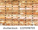 rust and old steel background... | Shutterstock . vector #1229398705