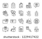 christmas and happy new year... | Shutterstock .eps vector #1229417422