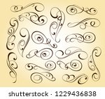 design elements. vector... | Shutterstock .eps vector #1229436838