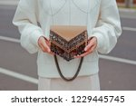 detail of young fashionable...   Shutterstock . vector #1229445745