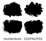 grunge brush stroke backgrounds.... | Shutterstock .eps vector #1229462932