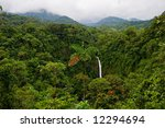 wonderful view over costa rican ... | Shutterstock . vector #12294694