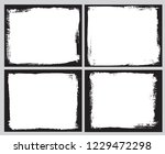 grunge frame backgrounds.vector ... | Shutterstock .eps vector #1229472298
