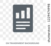 quarterly report icon. trendy... | Shutterstock .eps vector #1229474998