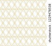 stylish interlacing linear... | Shutterstock .eps vector #1229478538