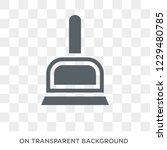 dust pan icon. trendy flat... | Shutterstock .eps vector #1229480785