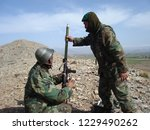 afghanistan   circa 2006  two... | Shutterstock . vector #1229490262