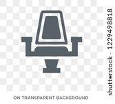 cinema seats icon. trendy flat...   Shutterstock .eps vector #1229498818