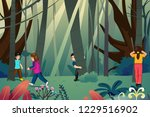 a vector illustration of... | Shutterstock .eps vector #1229516902
