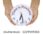 time is precious literally  ...   Shutterstock . vector #1229549302