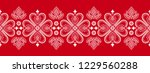 folklore floral nordic...   Shutterstock .eps vector #1229560288
