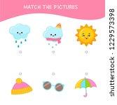 matching children educational... | Shutterstock .eps vector #1229573398