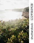 beautiful views of the atlantic ...   Shutterstock . vector #1229583928