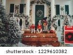 a portrait of children sitting... | Shutterstock . vector #1229610382