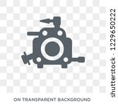 car carburettor icon. car... | Shutterstock .eps vector #1229650222