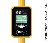 terminal for passenger... | Shutterstock .eps vector #1229650732