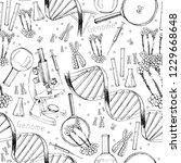 vector illustration of hand... | Shutterstock .eps vector #1229668648