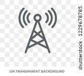 radio antenna icon. radio... | Shutterstock .eps vector #1229678785