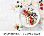 Yogurt Bowl With Fresh Berries  ...