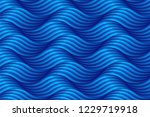 abstract blue wave background... | Shutterstock .eps vector #1229719918