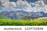 beautiful mountains  scenery... | Shutterstock . vector #1229732848