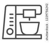 stationary mixer line icon.... | Shutterstock .eps vector #1229756242