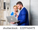 colleagues peaceful friendly... | Shutterstock . vector #1229763475