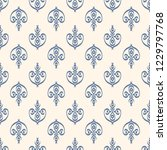 seamless decorative vector... | Shutterstock .eps vector #1229797768