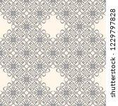 seamless decorative vector... | Shutterstock .eps vector #1229797828