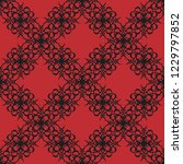 seamless decorative vector... | Shutterstock .eps vector #1229797852