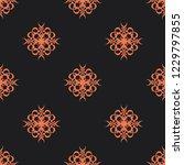 seamless decorative vector... | Shutterstock .eps vector #1229797855