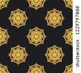 seamless decorative vector... | Shutterstock .eps vector #1229797888