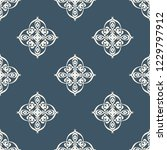 seamless decorative vector... | Shutterstock .eps vector #1229797912