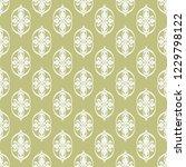 seamless decorative vector... | Shutterstock .eps vector #1229798122