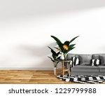 modern living room interior... | Shutterstock . vector #1229799988