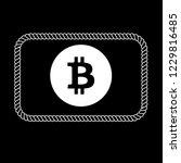 bitcon icon emblem label badge. ...