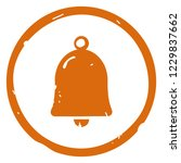 bell icon vector illustration... | Shutterstock .eps vector #1229837662