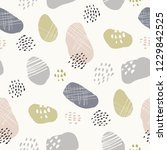 hand drawn stone like textured... | Shutterstock .eps vector #1229842525
