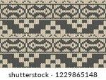 printable seamless vintage... | Shutterstock . vector #1229865148
