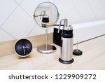 the doctor the dermatologist... | Shutterstock . vector #1229909272