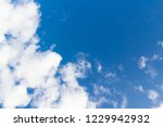 blue sky background and clouds... | Shutterstock . vector #1229942932