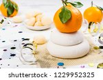 traditional japanese kagami...   Shutterstock . vector #1229952325