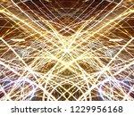 symmetrical colorful light...   Shutterstock . vector #1229956168